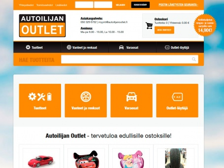 Autoilijan Outlet